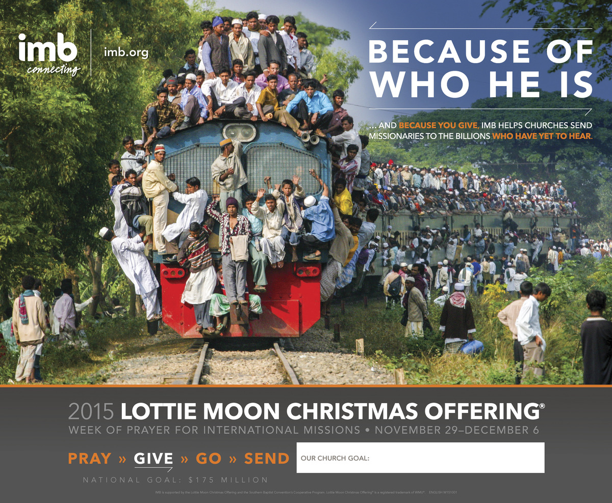 Lottie Moon Christmas Offering 2019.Lottie Moon Offering Ends This Week Plaza Baptist Church
